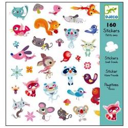 Stickers autocollants Djeco Petits amis Enfants 4 à 8 ans