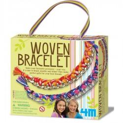 kit de bracelets en metal et fil de coton 4M