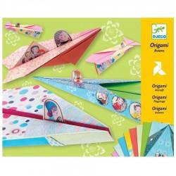Origamis Avions Djeco Pliage papier