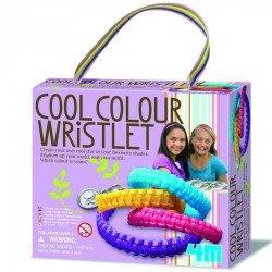 Kit pour fabriquer bracelets en plastiques colorés 4M