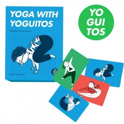 Jeu de cartes postures Yoga with yoguitos