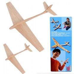 jeu construction avion 2 planeurs en balsa Enfants 6 ans +
