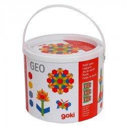 Mosaique jeu construction 250 formes géometriques