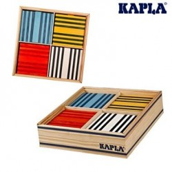 Jeu de construction Kapla 100 planchettes Octocolor 8 couleurs