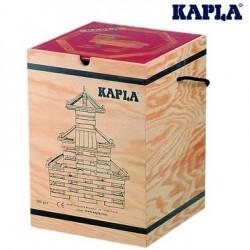Kapla Mallette 280 planchettes naturel+ 1 livre d'art