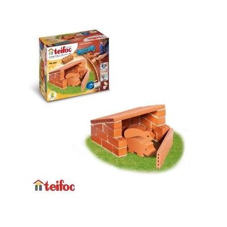 Teifoc Jeu Kit de construction en briques Enfant 6 ans +