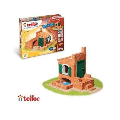 Teifoc Jeu Kit de construction en briques pour Enfant 6 ans et + - Un jeux des jouets