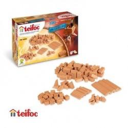 Teifoc Jeu de construction Kit de 100 briques blocs et tuiles