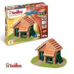 Teifoc jeu de  construction briques Enfant 6 ans + 200 p - T4210