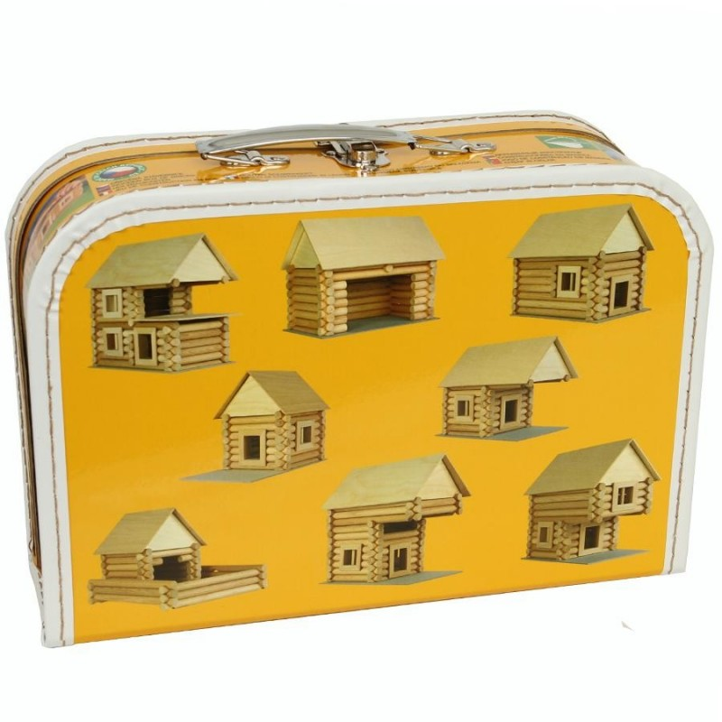 Jouet maison en rondins 72 pcs for Jeu de construction de maison virtuel