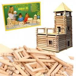 Kit de construction en bois 184 Pièces Vario