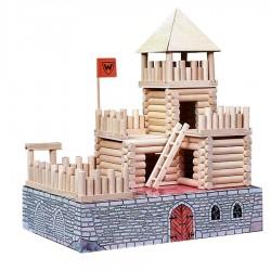 kit de Construction chateau fort 194 Pièces Vario