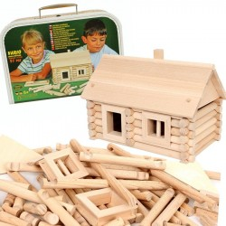 Kit de construction en rondins de bois 91 PCS VARIO