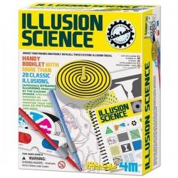 Jeux d'illusion Illusion science  + 20 tours Enfants 8 ans +
