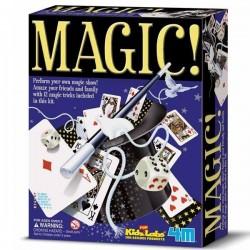Jeux de Magie Coffret de plus de 12 tours de magie Enfants 8 ans +