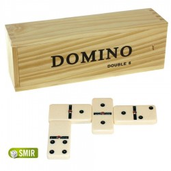Dominos double 6 avec rivet