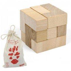 Casse tete Cube Jeux de patience en bois 7 pcs