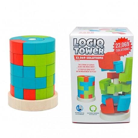 Logiq Tower jeu en bois