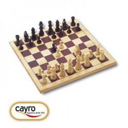 Jeu d'échecs Jeu de plateau Échiquier 30x30 cm en Bois