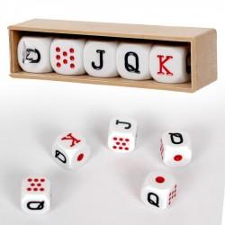 Jeu de dés Poker menteur