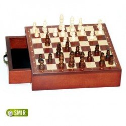 Jeu Société Coffret de voyage échecs magnétiques tiroir