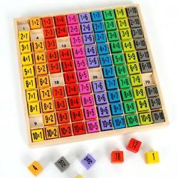 Table des multiplications jouet éducatif