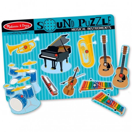 Puzzle sons les instruments de musique