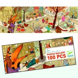 Puzzle Djeco Gallery Paris 100 pcs Enfants 5 ans +