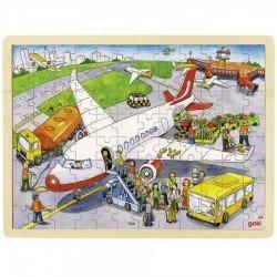 Puzzle en bois Aéroport 96 pcs