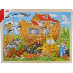 Puzzle en bois 5 ans Arche de Noé