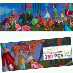 Puzzle Djeco Gallery La merveilleuse Promenade 350 pcs 7 ans +