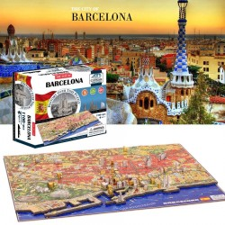 Puzzle 4D BARCELONE 1100 pcs