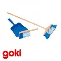Pelle à poussière balayette balai Set de ménage Goki