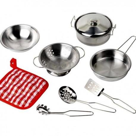 Dinette pour enfant Set de cuisine 9 éléments