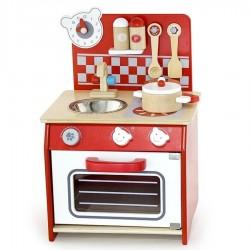 Petite cuisine en bois pour enfants