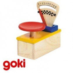 Balance Jouet en bois 1 plateau jeu d'imitation de la marchande