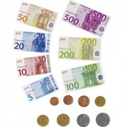 Monnaie factice jeu Argent factice euros pièces et billets