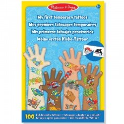 Tatouage enfants 100 Tattoos Décalcomanies prédécoupés enfant Garçon