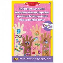 Tatouage enfants 100 Tattoos Décalcomanies prédécoupés enfant Fille