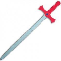 Épée rouge 60 cm Jouet en bois Déguisement Enfant garçon 4 ans +