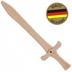 Épée en bois naturel 49 cm Déguisement Enfant
