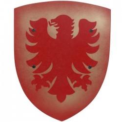 Bouclier de Chevalier Enfant Aigle Rouge 42 cm