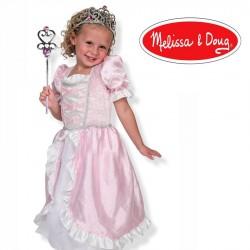 Déguisement robe princesse couronne baguette Enfant fille 3 à 4 ans