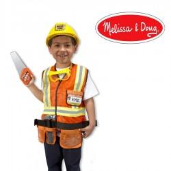 Déguisement enfant garçon constructeur Costume avec accessoires
