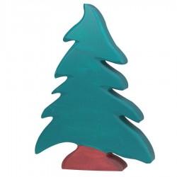 Arbre en bois arbre sapin figurine Holztiger