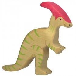 Animaux en bois dinosaure figurine Holztiger