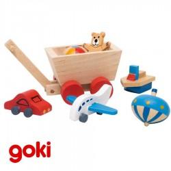 Maison de poupées accessoires en bois jouets chambre des enfants