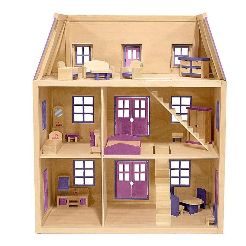 1000 Images About New Home Construction On Pinterest: Maison De Poupées En Bois