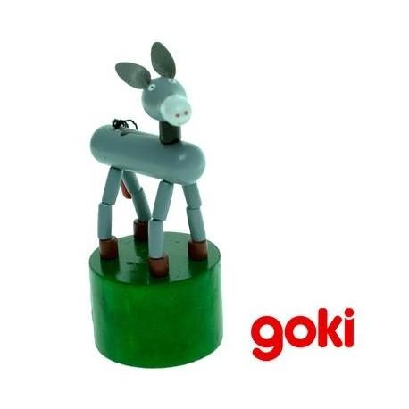 Wakouwa petite Marionnette Jouet en bois articulée