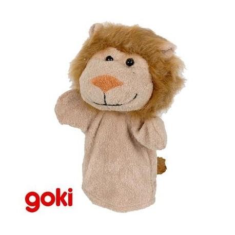 Marionnette à main peluche animaux jungle jeu imitation 4 ans +